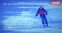 Ski and Snowboard Instructor Anwärter course, SnowSports Academy, 13-24 Φεβρουαρίου 2017
