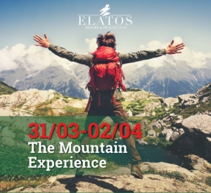 The Mountain Experience, Elatos Resort, 31 Μαρ - 2 Απριλίου 2017